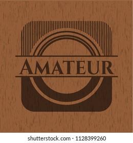 Amateur wood emblem