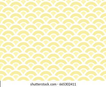 Amazing Block Yellow Summer Pattern