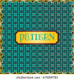 Amazing colorful repeatable pattern