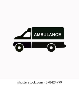 Ambulance  icon. Vector design.