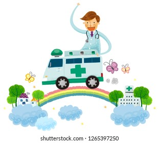 Ambulance service from hospital to home