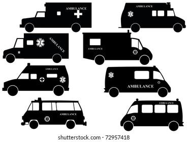 Ambulance Silhouette
