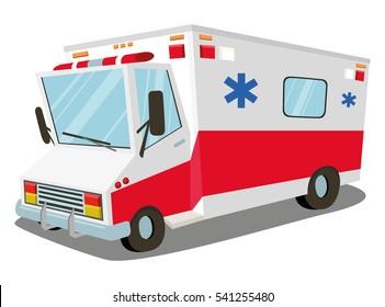 Ambulance. transport, rescue