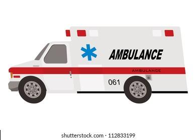 ambulance truck