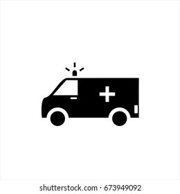 ambulance- Vector icon ambulance Icon Vector / ambulance icon /ambulance - Vector icon