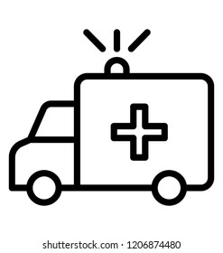 Ambulance is vehicle for emergency medical care