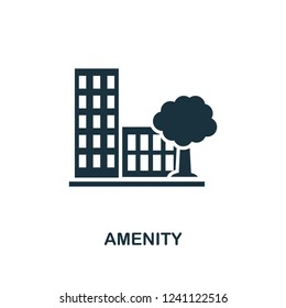Amenity icon. Premium style design from urbanism collection. UX and UI. Pixel perfect amenity icon for web design, apps, software, printing usage.