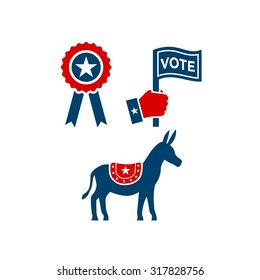America Election Logo Template