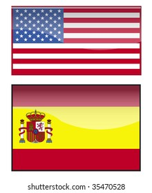 america and spain