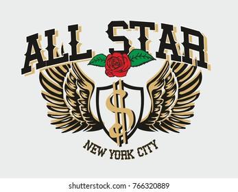 American dolar grapic design vector art