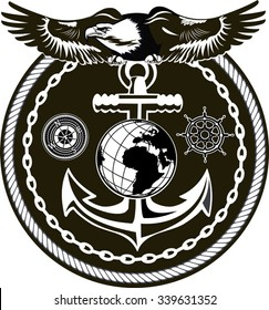 photograph regarding Printable Marine Corps Emblem identify Maritime Corps Illustrations or photos, Inventory Shots Vectors Shutterstock
