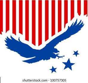 American eagle background