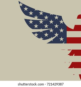 American eagle background for web