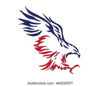 American Eagle Patriotic Logo - Elite Soldier Squad