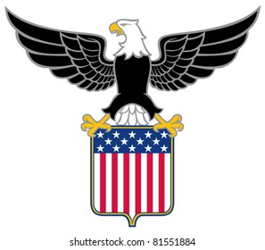 american eagle (usa coat of arms new design)