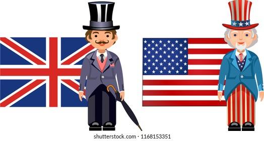 American English Flag