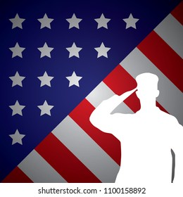 american flag background text with army respect