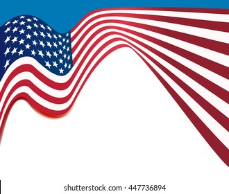 american flag background, usa national colors wavy background