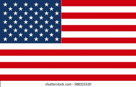 American Flag in a gray circle