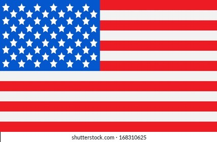 American Flag idea Vector illustration