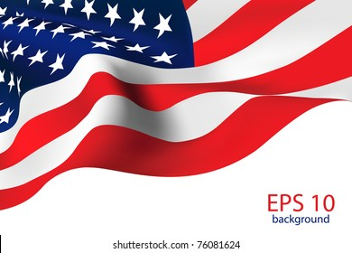 American Flag - Old Glory flag VECTOR