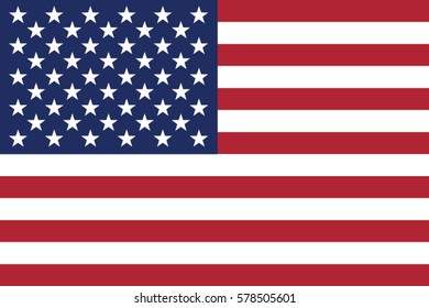 American Flag  vector background. United States of America. USA. The Star-Spangled Banner with Stars and Stripes. USA. natural colors