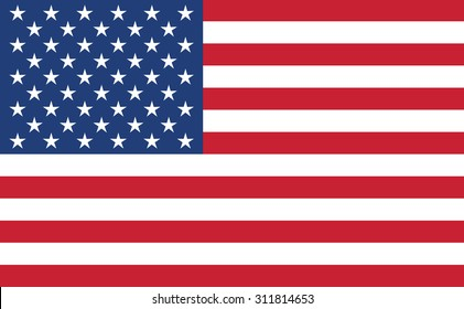 American flag. vector design.