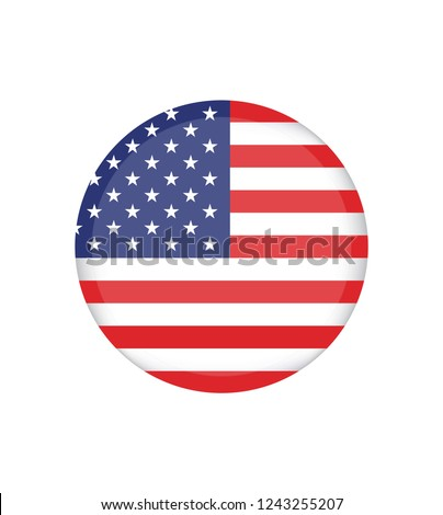 american flag vector image american flag stock vector royalty free