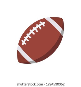 american footbal icon of color style design vector template