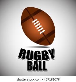 American football ball, football ball. Rugby ball.
