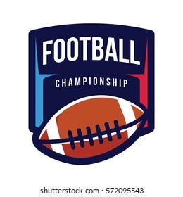 American Football Championship Logo