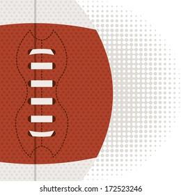 american football design over white  background vector illustration