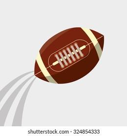 American football design, vector illustration eps10.