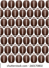 An American Football flyer design perfect for tailgate parties, football invites, etc. Vector EPS 10. EPS file contains transparencies.