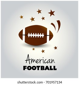 An American Football flyer design perfect for tailgate parties, football invites, etc. EPS 10. EPS file contains transparencies. Text has been converted to outlines and is on its' own layer.