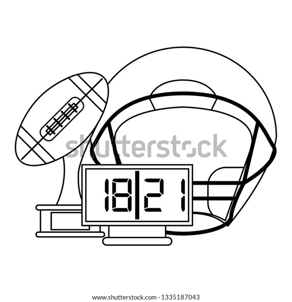 Football Clipart Black And White Free - Cliparts.co