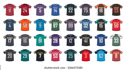 best sneakers 609e6 26e9d Football-jersey Images, Stock Photos & Vectors | Shutterstock