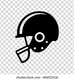 american football helmet icon.
