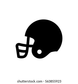american football helmet icon illustration isolated vector sign symbol