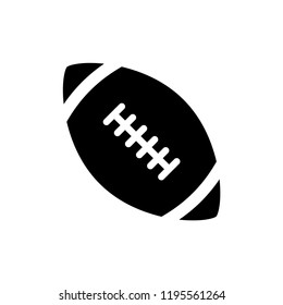 American football icon trendy design template