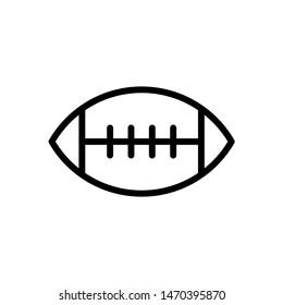 American football icon vector design templates