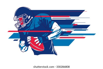 American football player 6