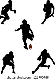 american football players collection