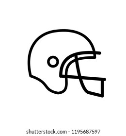 american football, rugby icon vector template