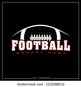 American football, sport design, team logo