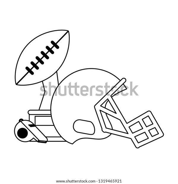 Free Football Black And White, Download Free Clip Art, Free Clip Art on  Clipart Library