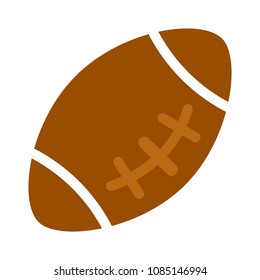 american football - sport icon, rugby symbol