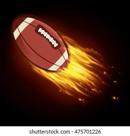 american football sport icon vector illustration design