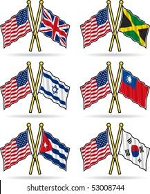 American Friendship Flags 2