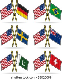 American Friendship Flags 3